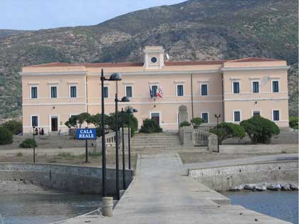 admin offices on Asinara