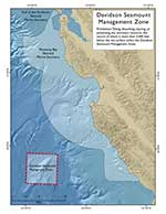 Davidson Seamount Management Zone map