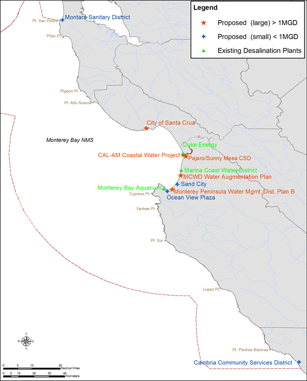 MBNMS Sanctuary Maps