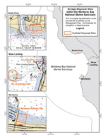 Dredge Disposal Sites map