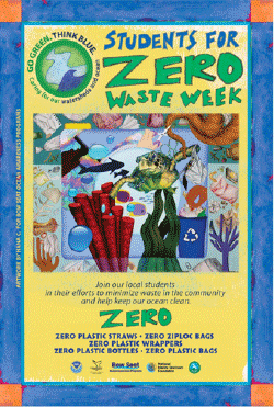 image of Students for Zero Waste Week poster