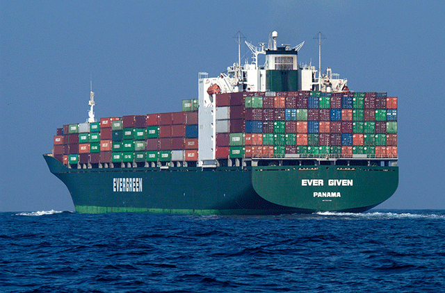 picture of container ship