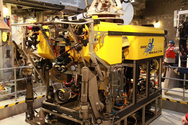 picture of MBARI's ROV Doc Ricketts