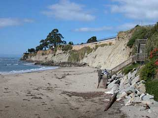 Seawall, erosion and revetments