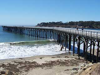 Hearst Castle Beach Pier