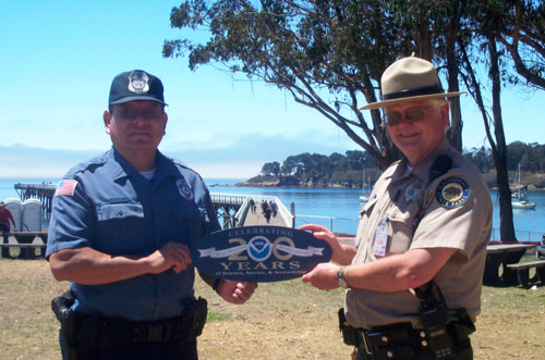 picture of california state parke ranger and noaa law enforcement officer
