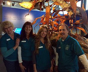picture of some sanctuary exploration center docents